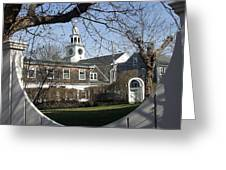 Historic Nantucket Church Greeting Card