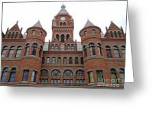 Historic Old Red Courthouse Dallas #1 Greeting Card