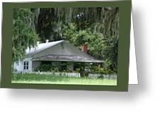 Historic Overstreet Homestead Kissimmee Florida Greeting Card