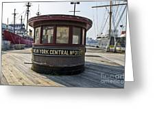 Historic Pier Greeting Card