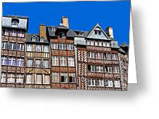 Historic Rennes Greeting Card by Jane Rix