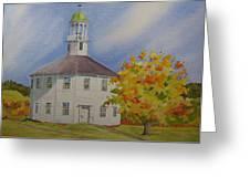 Historic Richmond Round Church Greeting Card