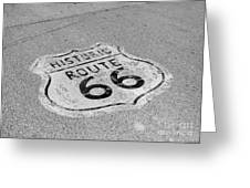Historic Route 66 Greeting Card