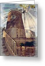 Historic Schonhoff Dutch Mill Greeting Card