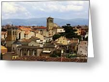 Historic Segovia Greeting Card