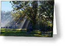 Historic Sibley Cemetery At Fort Osage Missouri Greeting Card