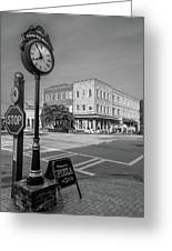 Historic Small Town In South Where Greeting Card