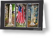 Historic State Line Greeting Card