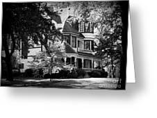 Historic Victorian Home Greeting Card