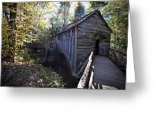 Historical 1868 Cades Cove Cable Mill Greeting Card
