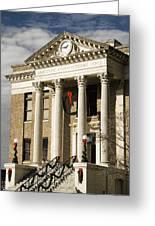 Historical Athens Alabama Courthouse Christmas Greeting Card