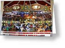 Historical Carousel In Tennessee Greeting Card