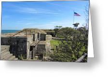 Historical Fort Wool Virginia Landmark Greeting Card
