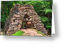 Historical Furnace Greeting Card