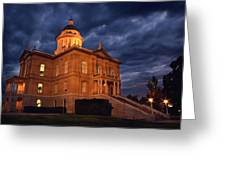 Historical Placer County Courthouse Greeting Card