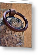 Hitching Post #1 Greeting Card