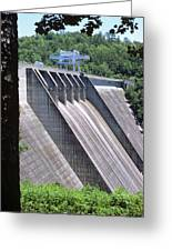 Hiwassee Dam 1 Greeting Card