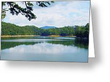 Hiwassee Lake Greeting Card by Robert J Andler