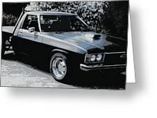 Hj Holden Ute Greeting Card