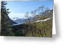 Hjorundfjord From Slogan Greeting Card