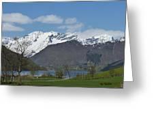 Hjorundfjord Greeting Card