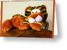 Ho Hummm Tiger Greeting Card