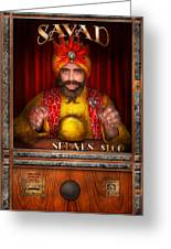 Hobby - Have Your Fortune Told Greeting Card by Mike Savad