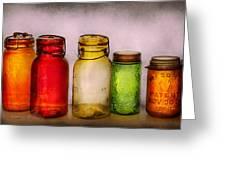 Hobby - Jars - I'm A Jar-aholic  Greeting Card