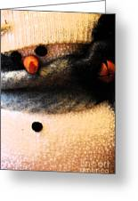 Hobo Snowman Iv Greeting Card