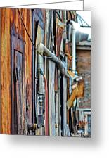 Hoboken After Sandy Greeting Card