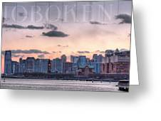 Hoboken  Greeting Card