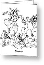 Hoedown Greeting Card