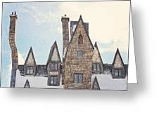 Hogsmeade Architecture Greeting Card