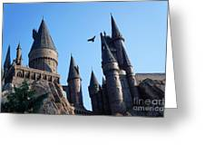 Hogwarts Castle Greeting Card