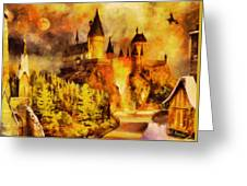 Hogwarts College Greeting Card