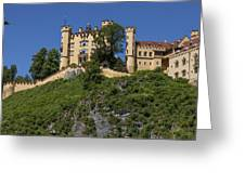 Hohenschwangau Castle Greeting Card
