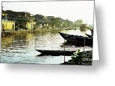 Hoi An Dawn 01 Greeting Card