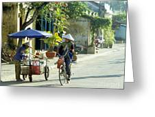 Hoi An Early Morning Greeting Card