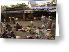 Hoi An Market Greeting Card