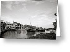 Hoi An Riverfront Greeting Card