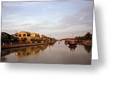 Hoi An Tranquillity Greeting Card