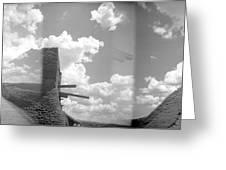 Holga Triptych 3 Greeting Card