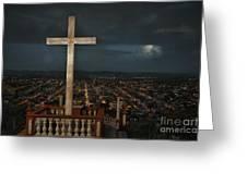 Holguin Cuba Loma De La Cruz Greeting Card