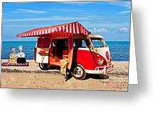 Holiday By The Seaside Greeting Card