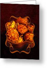 Holiday Citrus Bowl Iphone Case Greeting Card