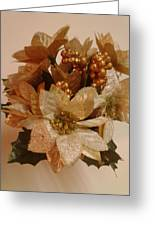 Holiday Flowers Greeting Card