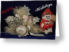 Holiday Greeting Greeting Card