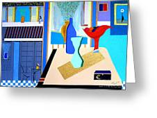 Holiday In Paris Greeting Card