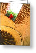 Holiday In The Lighthouse Greeting Card