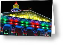 Holiday Lights 2012 Denver City And County Building L5 Greeting Card